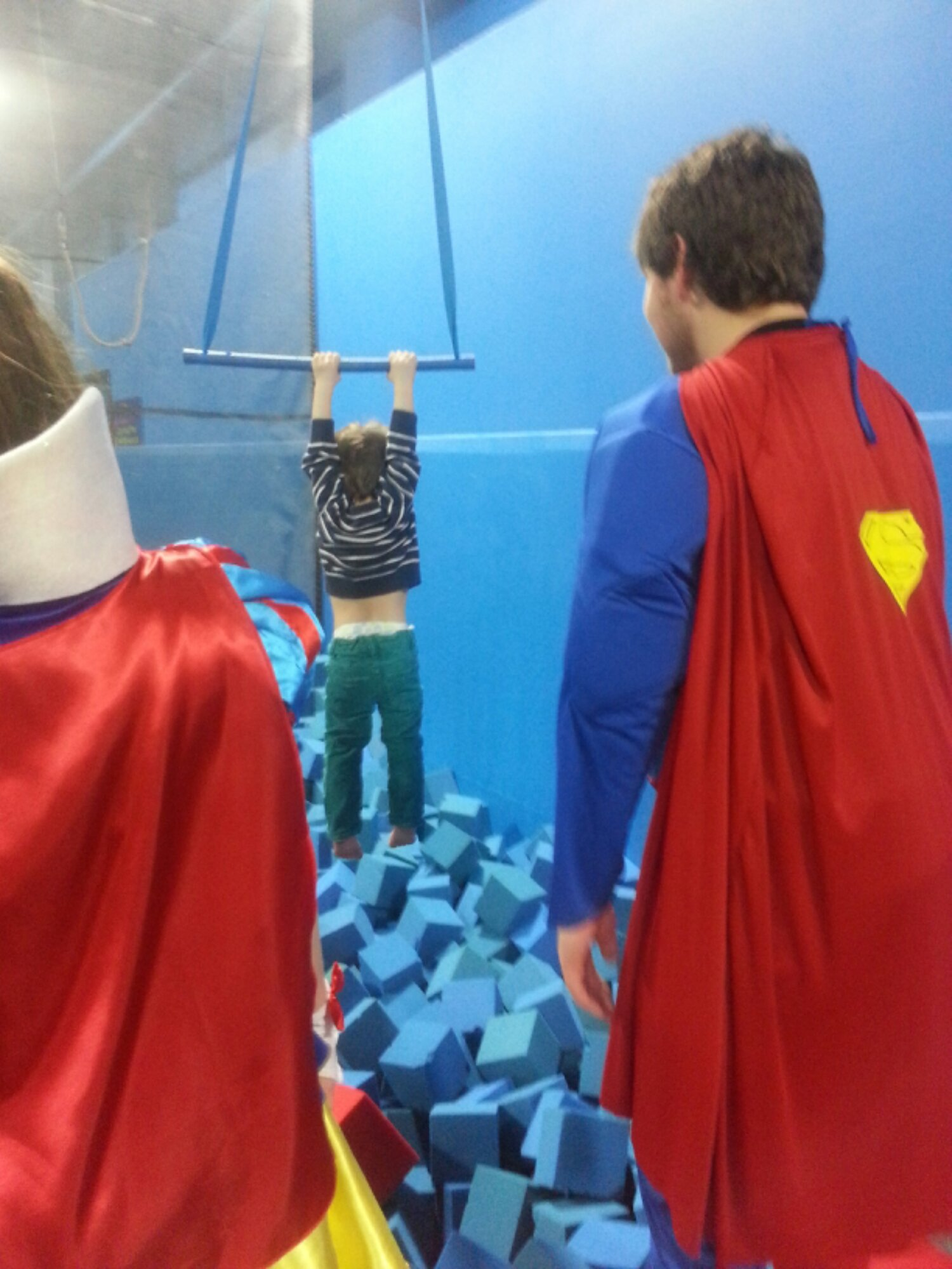 Just Hangin' Out With Superman and SnowWhite