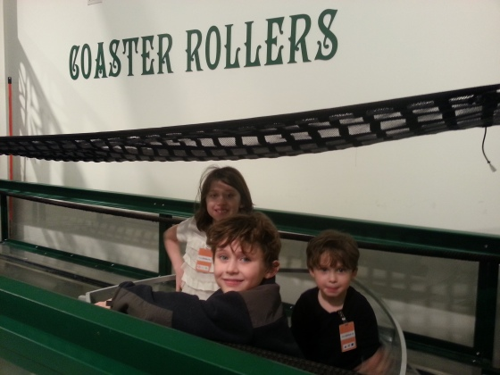 Who needs roller coasters when you have coaster rollers??